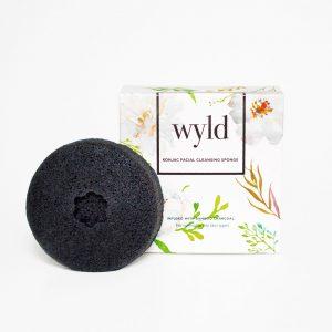 Wyld Skincare - Bamboo Charcoal Konjac Sponge